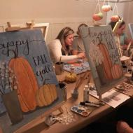 Happy Fall Y'all Painting Party