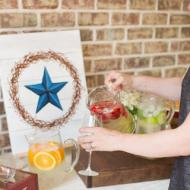 """Rustic Star"" Painting Party"